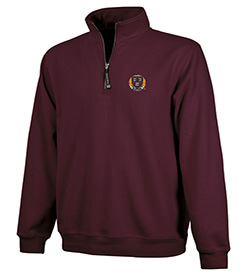 Harvard Charles River 1/4 Zip Crosswind Sweatshirt
