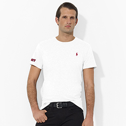 Ralph Lauren White MIT  T Shirt