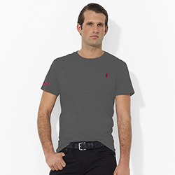 Ralph Lauren Grey MIT T Shirt
