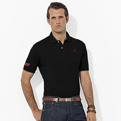 Ralph Lauren Men's Black MIT Polo