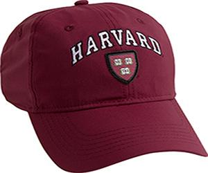 New! Harvard Maroon Performance Tech Hat