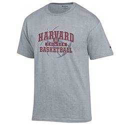 Harvard Youth Basketball Grey T Shirt