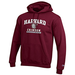 Harvard Basketball Youth Maroon Hooded Sweatshirt
