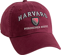 Harvard Crimson Pforzheimer House Hat