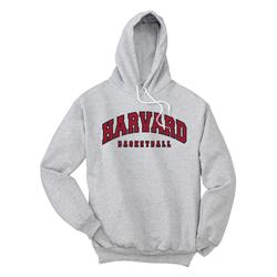 Harvard Basketball Hooded Grey Sweatshirt