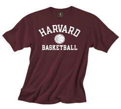 Versa Twill Harvard Basketball Maroon T Shirt