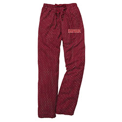 Harvard Maroon Swiss Dot Pants