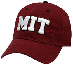 Maroon MIT Unstructured Hat
