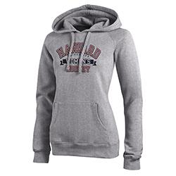 Woman's Hockey Grey Hooded Sweatshirt
