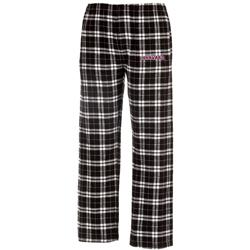 Harvard Flannel Black/White Pants