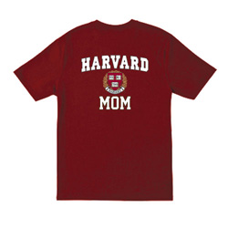 Harvard Mom  Maroon T Shirt