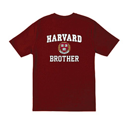 Harvard Brother  Maroon T Shirt