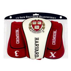 Harvard Veritas Headcovers (set of 3)