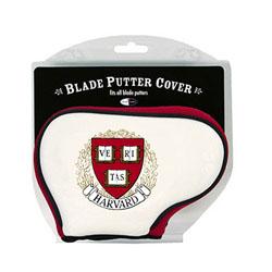 Harvard Veritas Blade Putter Cover