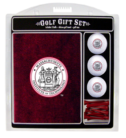 MIT Golf Ball, Tee and Towel Gift Set