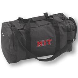 MIT Black Embroidered Gear Bag