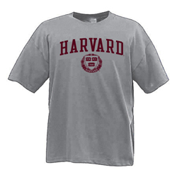 Harvard Veritas Grey T Shirt
