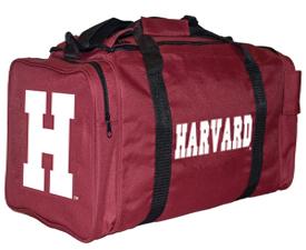 Harvard Maroon Screened Gear Bag