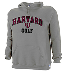 Harvard Golf Hooded Grey Sweatshirt