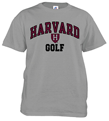 Harvard Golf Grey T Shirt