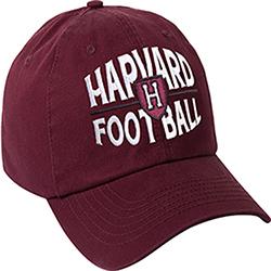 Harvard Maroon Football Hat