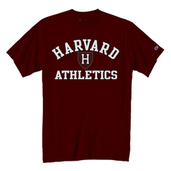 Harvard Athletic Maroon T Shirt