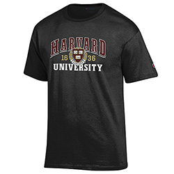 Harvard Black T Shirt