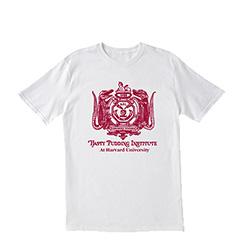 Hasty Pudding White Logo T Shirt