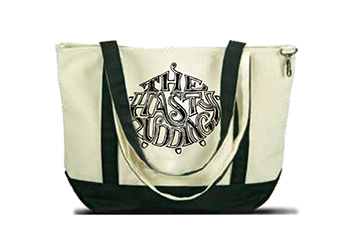 Hasty Pudding Theatrical Logo Tote Bag