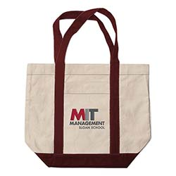 MIT Sloan School School of Management Medium Tote Bag