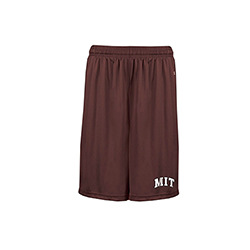MIT Maroon Performance Pro Heather Pocketed Shorts