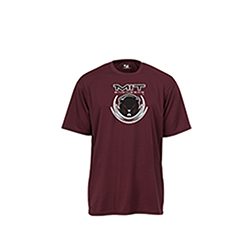 Performance MIT Beaver Pro Heather Maroon T Shirt