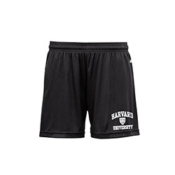 Women's Performance Harvard Black Shorts