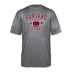 Moisture-Management Carbon Football Pro Heather Carbon T Shirt