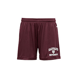 Women's  Harvard Maroon Performance Shorts