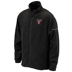 Harvard Columbia Flanker Black Jacket