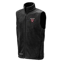 Columbia Harvard Flanker Black Full Zip Flanker Vest