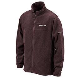 Columbia Harvard Flanker Maroon Full Zip Flanker Jacket