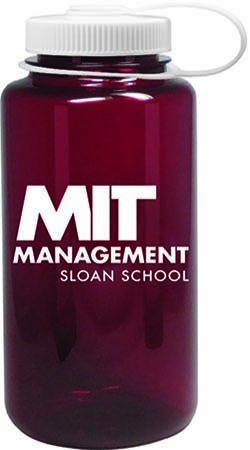 MIT Sloan  Red Nalgene Bottle