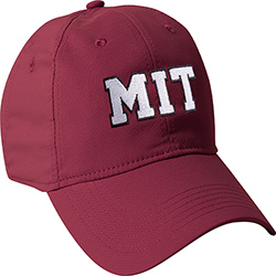 New! MIT  Maroon Performance Tech Hat