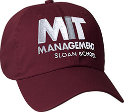 MIT Sloan School of Management Maroon Hat