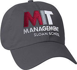 MIT Granite Hat with Sloan School of Management