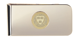 23K Gold Plated Brass Harvard Money Clip #9G-G