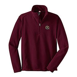 Harvard Veritas Maroon Fleece 1/4 Zip Jacket