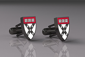 Harvard Business School Custom Cufflinks  (CUFW-WHAR2)