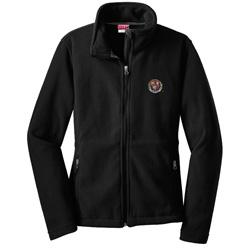 Women's Harvard  VeritasBlack Feece Full-Zip Jacket