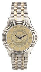 MIT Men's Two-Tone Rolled Link Bracelet Wristwatch #37B-G