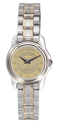 MIT Ladies Two-Tone Rolled Link Bracelet Wristwatch #39BG