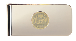 23 K Gold Plated Brass MIT Money Clip #9GG
