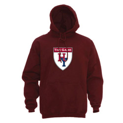 Youth Harvard-Yale Hooded Maroon Sweatshirt